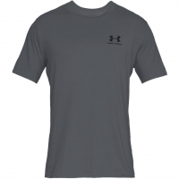 Koszulka męska Under Armour Sportstyle Left Chest SS szara 1326799 012
