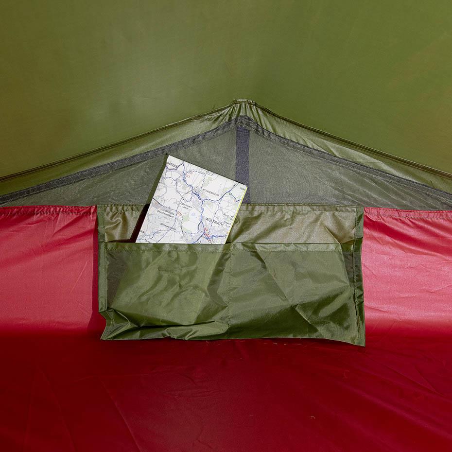 Namiot High Peak Siskin 2 zielono czerwony 10184 Cena