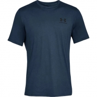 Koszulka męska Under Armour Sportstyle Left Chest Ss granatowa 1326799 408