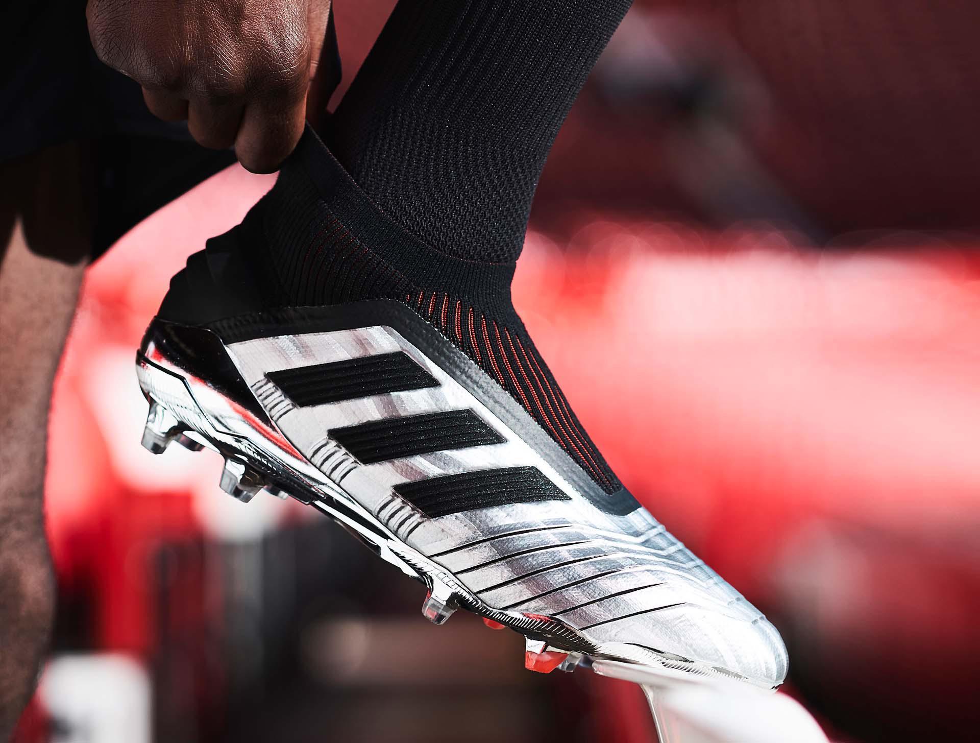 adidas Nemeziz 19+ SG CzerwonySrebrnyCzerwony