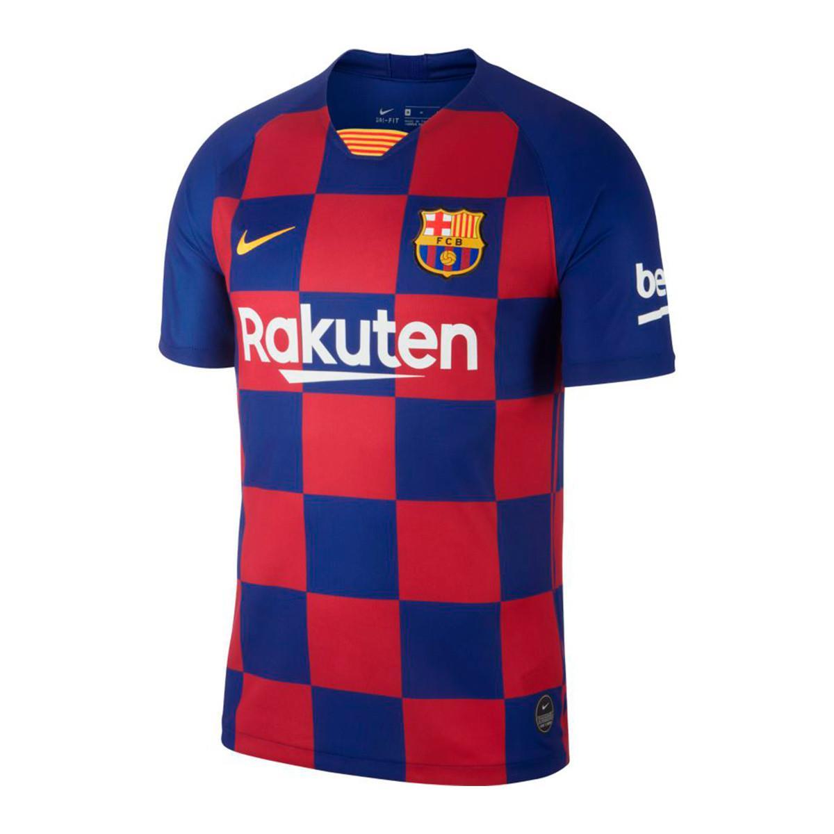 Koszulka Nike FC Barcelona 201920 Breathe Stadium Home AJ5532 456