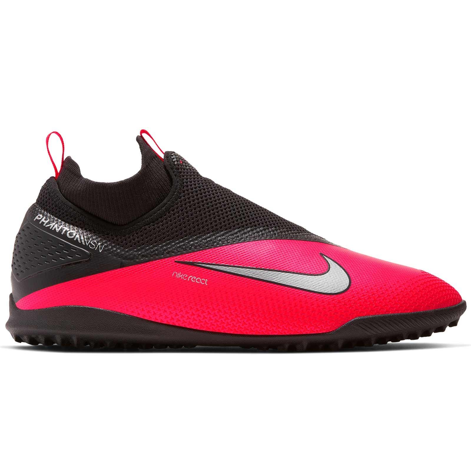 Buty piłkarskie turfy Phantom Vision Academy Dynamic Fit TF Nike (czarno żółte)